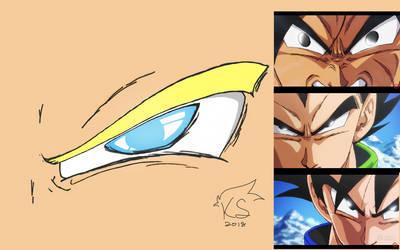 Dragon Ball Eye Colored by Kana-San2222