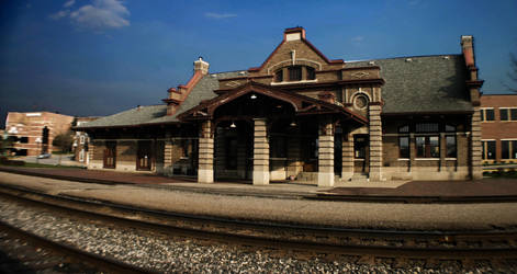 Train Station by Deathtoll