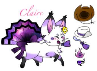 .:OC:. Claire ! by LonniexGoldenFreddy