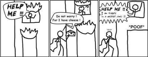 Sankoma 002 : Cheesy superhero by The404