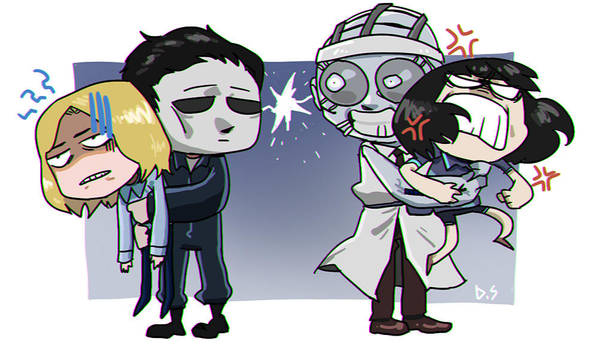 [DBD] Shape and Doctor by dalsegno2525