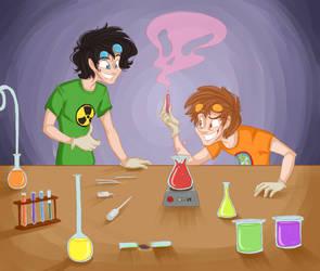 Chemistrific ! by GildingofNightfall