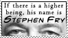 Stephen Fry Stamp by mrTwisby