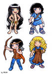 THORGAL - SD manga style by Selene-Moon