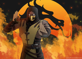 SCORPION (Mortal Kombat) by knilzy95