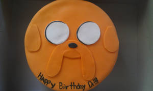JAKE THE CAKE 'BF BDAY CAKE' by VaneChu