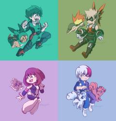 My Pokemon Academia by NovayaCM