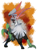 Type:Null / Silvally Mod Fire by iSuisei