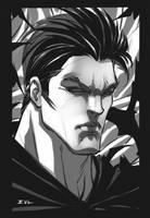 Bruce Wayne sketch by ErikVonLehmann
