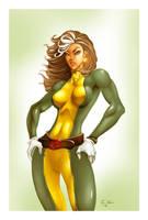 Rogue-X-Men colors by ErikVonLehmann