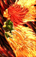 Phoenix Xmen by ErikVonLehmann