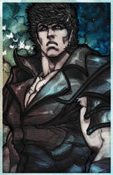 Kenshiro colors by ErikVonLehmann