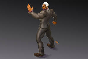 Street Fighter Urien by ErikVonLehmann