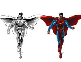Superman by ErikVonLehmann