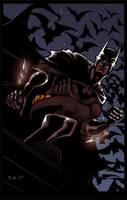 The EVL Dark Knight by ErikVonLehmann