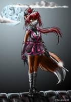 Ninja Foxy by s0lar1x