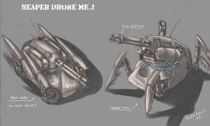 Reaper Drone by s0lar1x