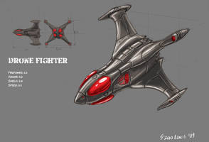 Drone Fighter by s0lar1x