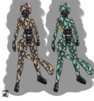 Exosuit Light armor v2 by s0lar1x