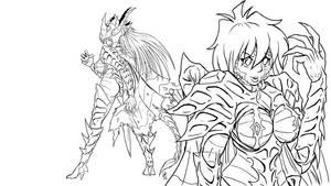Lina's Battlesuit wallpaper -wip- by s0lar1x