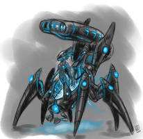 Shadow Empress concept by s0lar1x