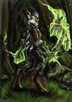 Worgen Druid by s0lar1x