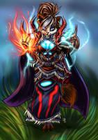 Pandaren Elemental Shaman by s0lar1x