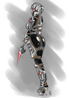 Techsuit Assassin by s0lar1x
