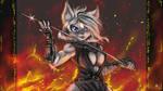 Battle Vixen by s0lar1x