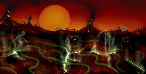 Halloween speedpaint by s0lar1x