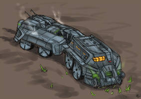 Harvester concept by s0lar1x
