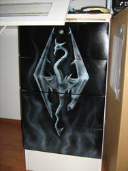 Skyrim airbrushing by s0lar1x
