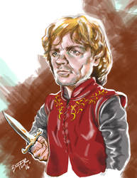Tyrion Lannister by BienFlores