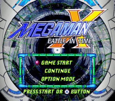 MegaMan X Battle In Time (Title Menu) by kensuyjin33