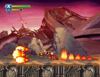 Phoenix Armor -MMX Corrupted (32-bit)- Kensuyjin33 by kensuyjin33