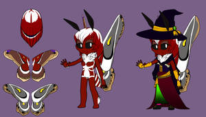 Mobian Moth Witch Auction = CLOSED by TheShadAmyArtistO10