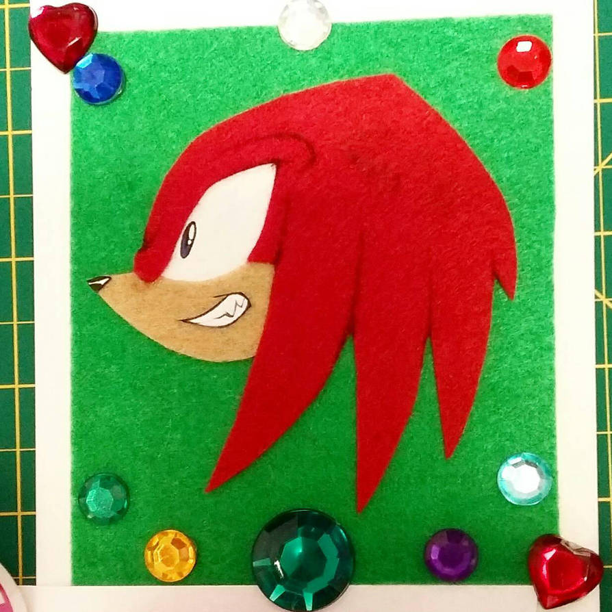 Felt Knuckles by TheShadAmyArtistO10