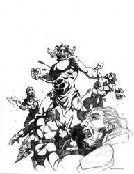Battle Rage by voya
