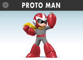 Megaman - Protoman alt by Pavlovs-Walrus