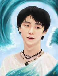 Yuzuru Hanyu by pretty-unicorn