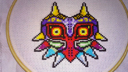 Majora's Mask Progress  by ThreadAndClay