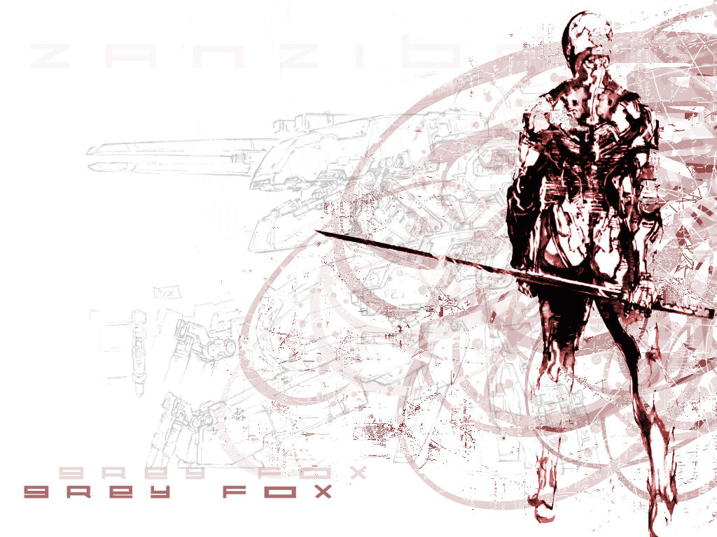 Grey Fox Mgs Wallpaper By Adamtogstad On Deviantart