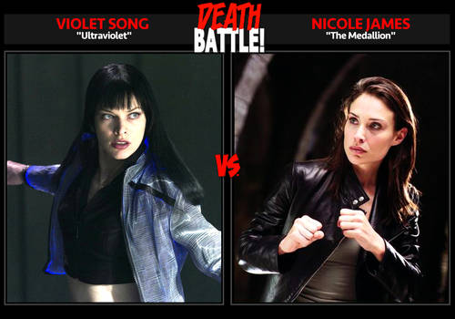 DEATH BATTLE: Violet Song vs. Nicole James by Death-Battle-Extrav