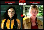 DEATH BATTLE: Silk Spectre II vs. Beatrix Kiddo by Death-Battle-Extrav