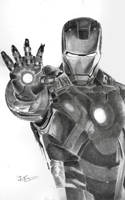 IRON MAN by JeffSequeira