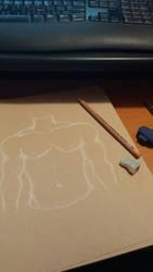 anatomy practice 1 by ibrokegimp