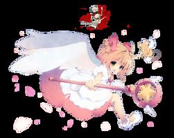 Kinomoto Sakura - CCS render 4/png by BigBang27