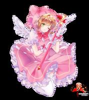 Kinomoto Sakura - CCS render 13/png by BigBang27