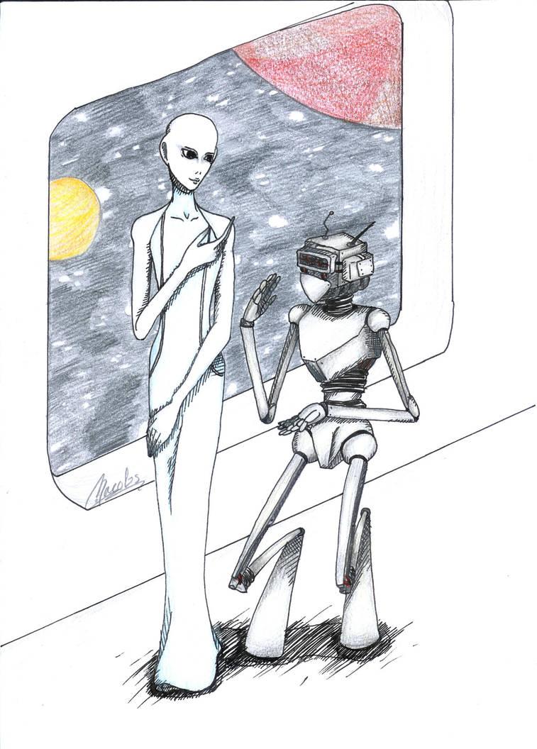 Alien Conversation by Livori