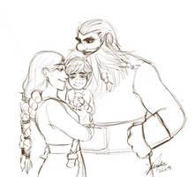 Haddock Family by Livori
